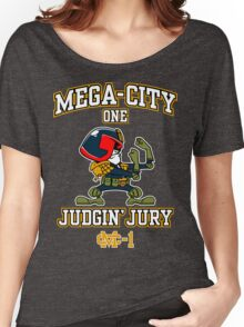 Mega-City One Judgin' Jury Women's Relaxed Fit T-Shirt