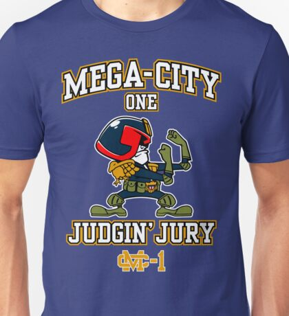 Mega-City One Judgin' Jury Unisex T-Shirt