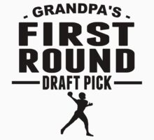 Grandpa's First Round Draft Pick One Piece - Short Sleeve