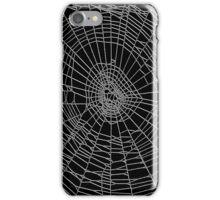 Spider Web black iPhone Case/Skin