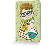 Tattooed Baby 003 Greeting Card