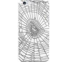 Spider Web Invert iPhone Case/Skin