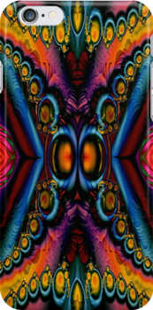 Fractal Hippy Butterfly  by Marvin Hayes