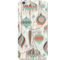 Elegant Art-Deco Christmas Ornaments Random Pattern iPhone Case/Skin