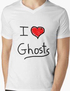 i love halloween ghosts Mens V-Neck T-Shirt