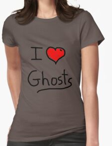 i love halloween ghosts T-Shirt