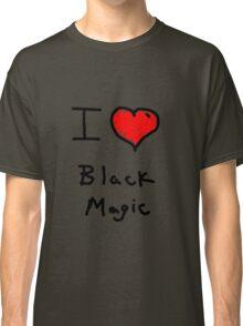 i love halloween black magic  Classic T-Shirt