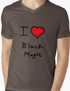 i love halloween black magic  Mens V-Neck T-Shirt
