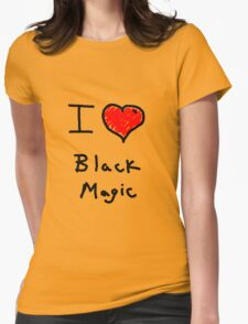 i love halloween black magic  T-Shirt
