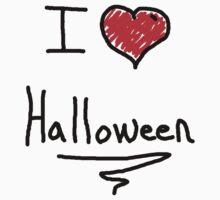 i love halloween Kids Clothes