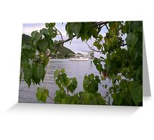 Guanica Bay 4 Greeting Card