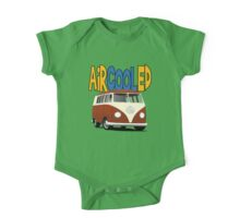 VW Splitty Transporter One Piece - Short Sleeve