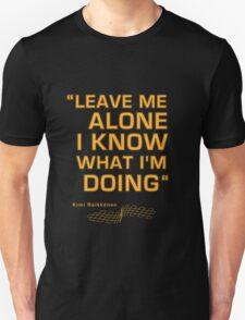 Kimi Raikkonen  - Radio Tribute 1 Unisex T-Shirt