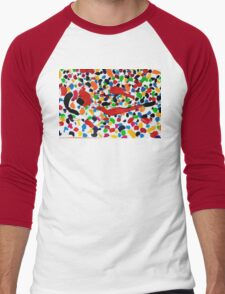 Series brush strokes No. 04/ 2014 Men's Baseball ¾ T-Shirt