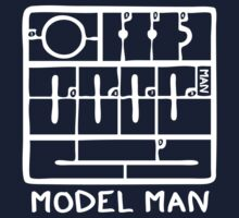 Model (stick) Man by Gumley