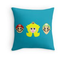 Mario minimal Throw Pillow