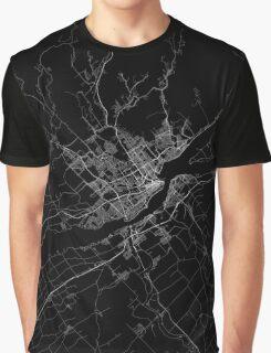Quebec map Canada Graphic T-Shirt
