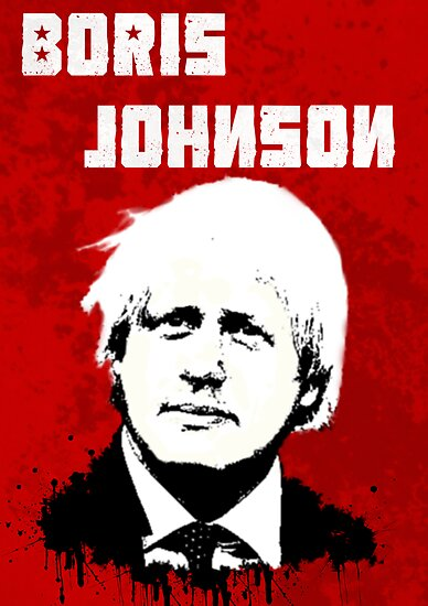 Boris Johnson / Che Guevara by Matthew James