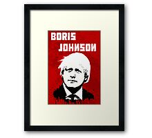 Boris Johnson / Che Guevara Framed Print