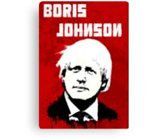 Boris Johnson / Che Guevara Canvas Print
