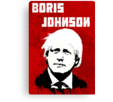 Boris Johnson / Che Guevara Canvas Print