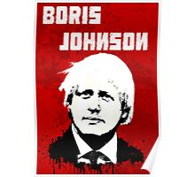 Boris Johnson / Che Guevara Poster
