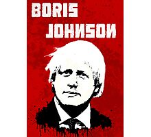 Boris Johnson / Che Guevara Photographic Print