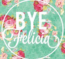 Bye Felicia Vintage Floral by SailorMeg