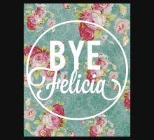 Bye Felicia Vintage Floral One Piece - Short Sleeve