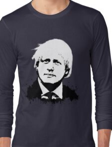 Boris Johnson / Che Guevara Long Sleeve T-Shirt