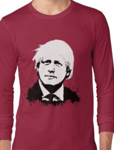 Boris Johnson / Che Guevara Long Sleeve T-Shirt