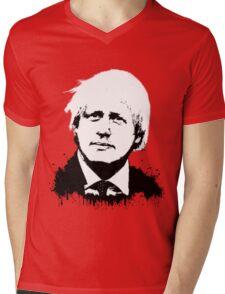 Boris Johnson / Che Guevara Mens V-Neck T-Shirt