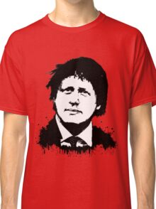Boris Johnson / Che Guevara Black Hair Classic T-Shirt