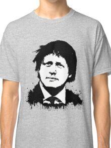 Boris Johnson / Che Guevara Black Hair Classic T-Shirt