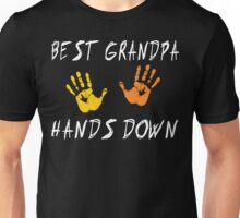 "Grandpa ""Best Grandpa Hands Down""  Unisex T-Shirt"