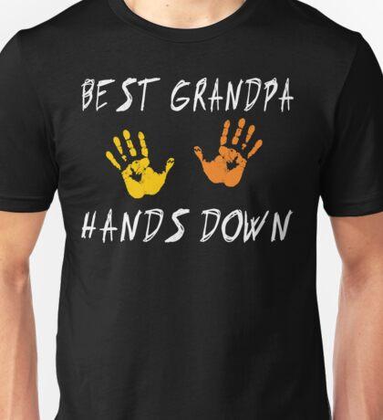 "Grandpa ""Best Grandpa Hands Down""  T-Shirt"