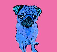 Doug The Pug by thefatblackduke