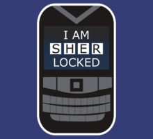 I Am Sherlocked - Locked Phone by Yiannis  Telemachou