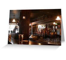 One of the oldest Pubs in Ireland Greeting Card