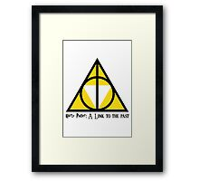 Harry Potter: A Link to the past  Framed Print