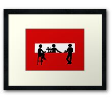 Bar Stop Framed Print