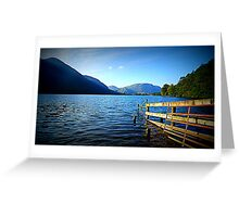 Buttermere, Lake District National Park. Greeting Card