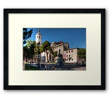 Cathedral of Valladolid Framed Print