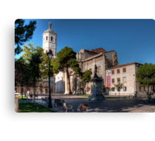 Cathedral of Valladolid Canvas Print