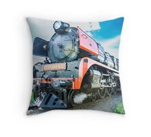 Rail Runner Throw Pillow