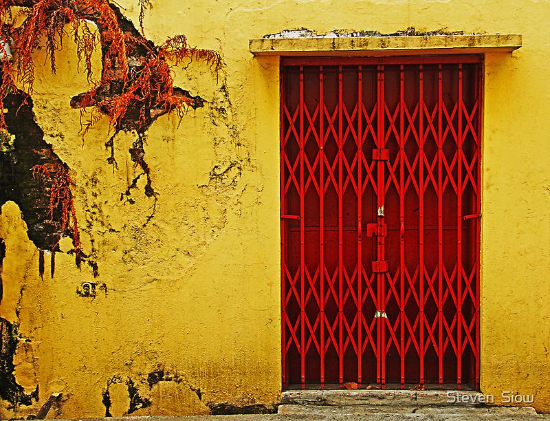 200808220749 Red Door by Steven  Siow