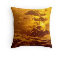 Cloud inferno Throw Pillow