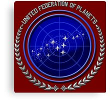 United Federation of Planets Canvas Print