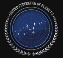 United Federation of Planets One Piece - Short Sleeve