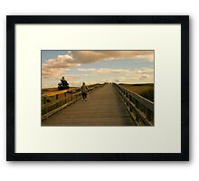 To the Beach and Back Framed Print